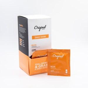 Relief CBD Capsules by Original Hemp (25mg) | Daily Dose