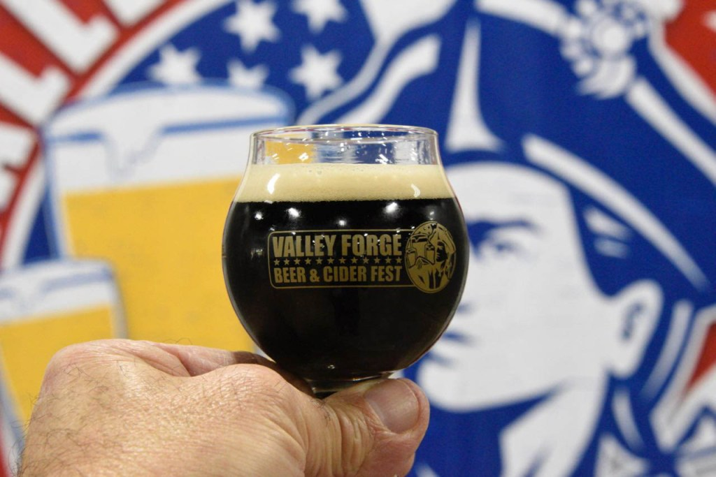 Valley Forge Beer Glass
