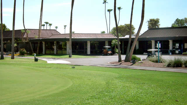 Originally opening in 1972, Palmbrook Country Club offers the most FUN Golf Country Club experience in Sun City, Arizona. The 6,500 yard Jeff Hardin designed golf course offers an exceptional park style tree lined golf course with newly updated bunkers and course amenities. The brook meandering through the back nine enhances the beauty of the course while putting a premium on well hit tee shots.