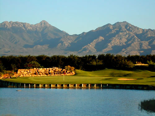 First Round Friday: The perfect Arizona Golf course, Torres Blancas Golf Club, is nestled in the Santa Cruz River Valley at the foot of the beautiful Santa Rita Mountains. An Arizona golf vacation at Torres Blancas offers a championship course designed by Lee Trevino, Ocampo and Fernandez.