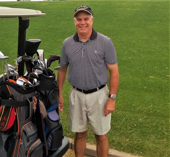 Steve Richter hole in one on #16 at Mesa Country Club. Using an 8 iron at 147 yards.