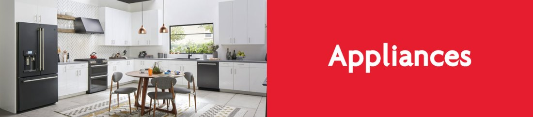 Home and kitchen appliances for your new Olds home.