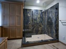 San Jose Master Bathroom Shower & Custom Cabinetry (W-QC) cropped