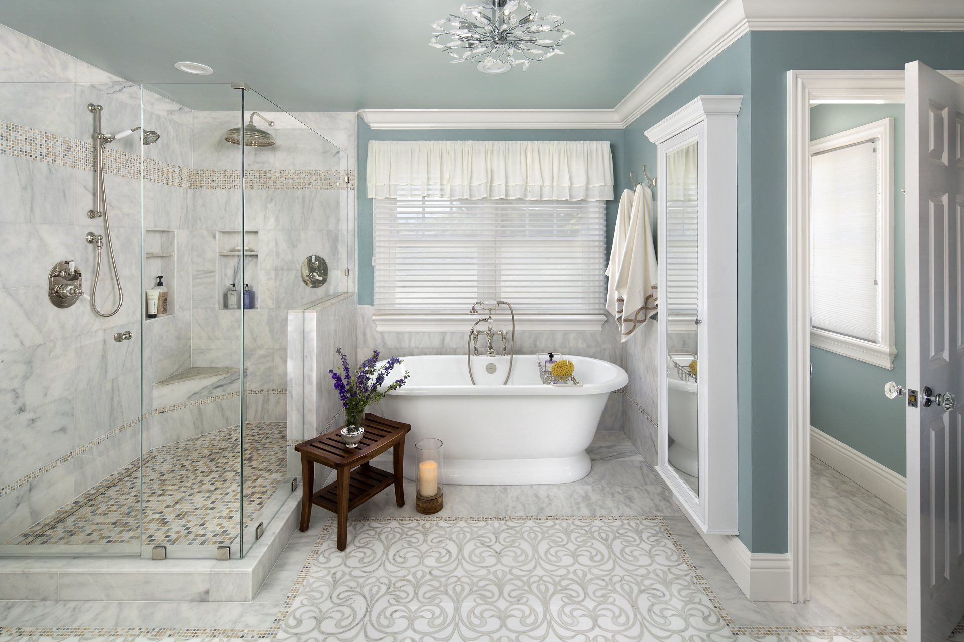 Bathroom Remodeling Portfolio - Valley Home Builders on Master Bathroom Remodel Ideas  id=45594