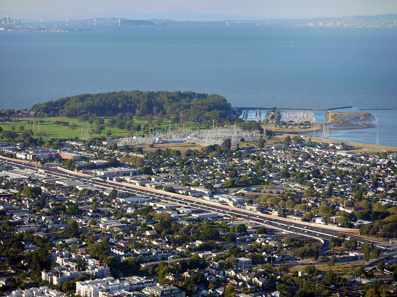 An Aerial View of San Mateo.