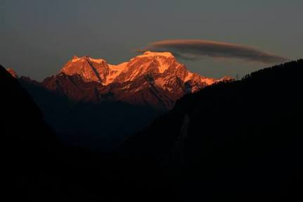 Hathi Peak in the morning