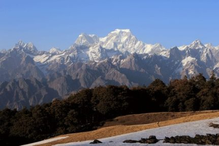 Hathi peak from Auli