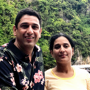 Devkant sangwan and Seema Sangwan