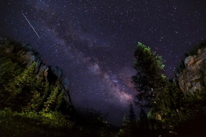 Night Sky Sanjiangyuan by Zhao Chenghao