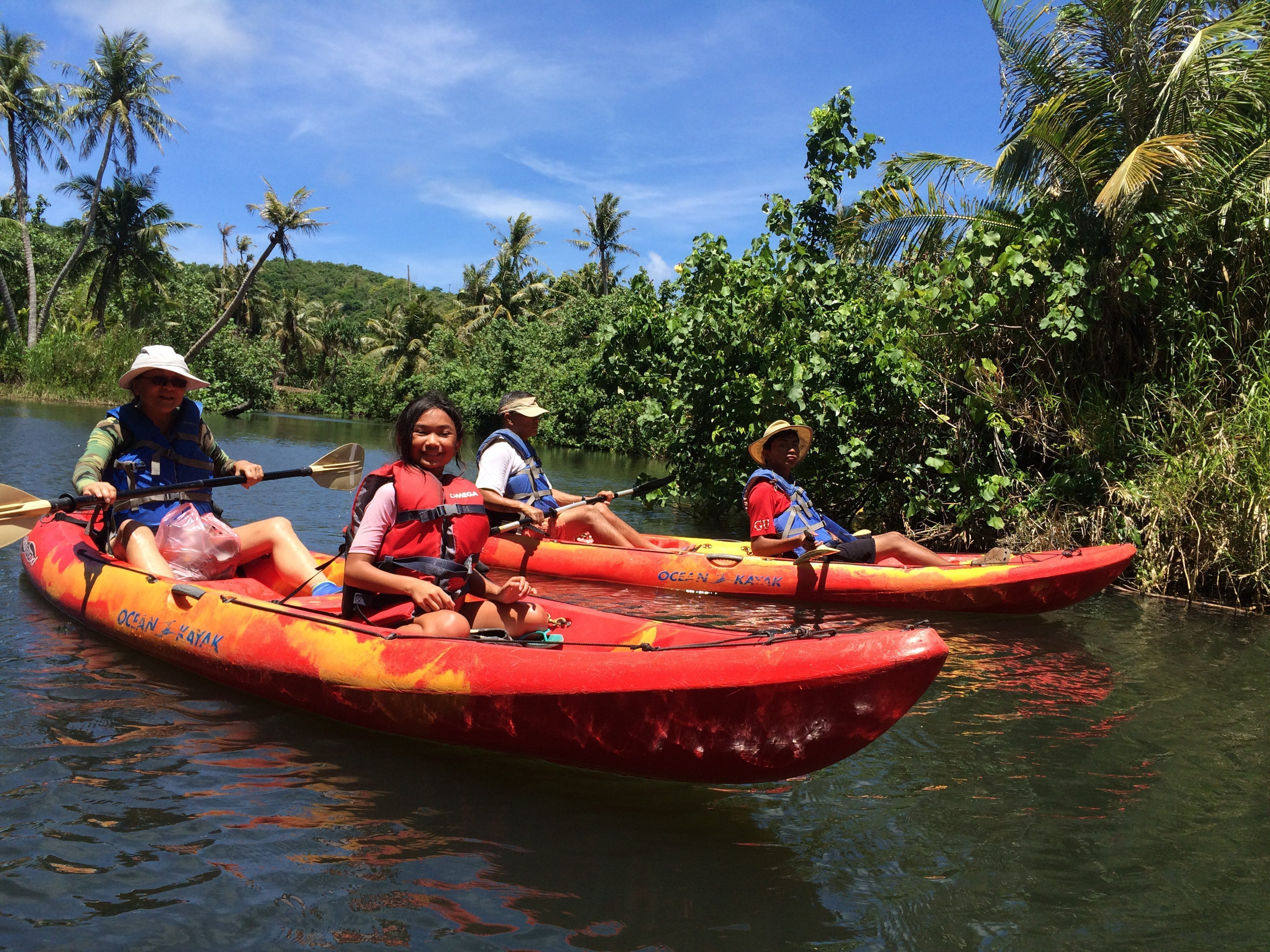 Guam, Things to do, Valley of the Latte, Tours, Activities, Kayaking