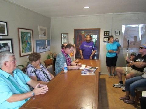 White Cane Safety Day. Proclamation Signing, Valley of the Latte, Guam, Events