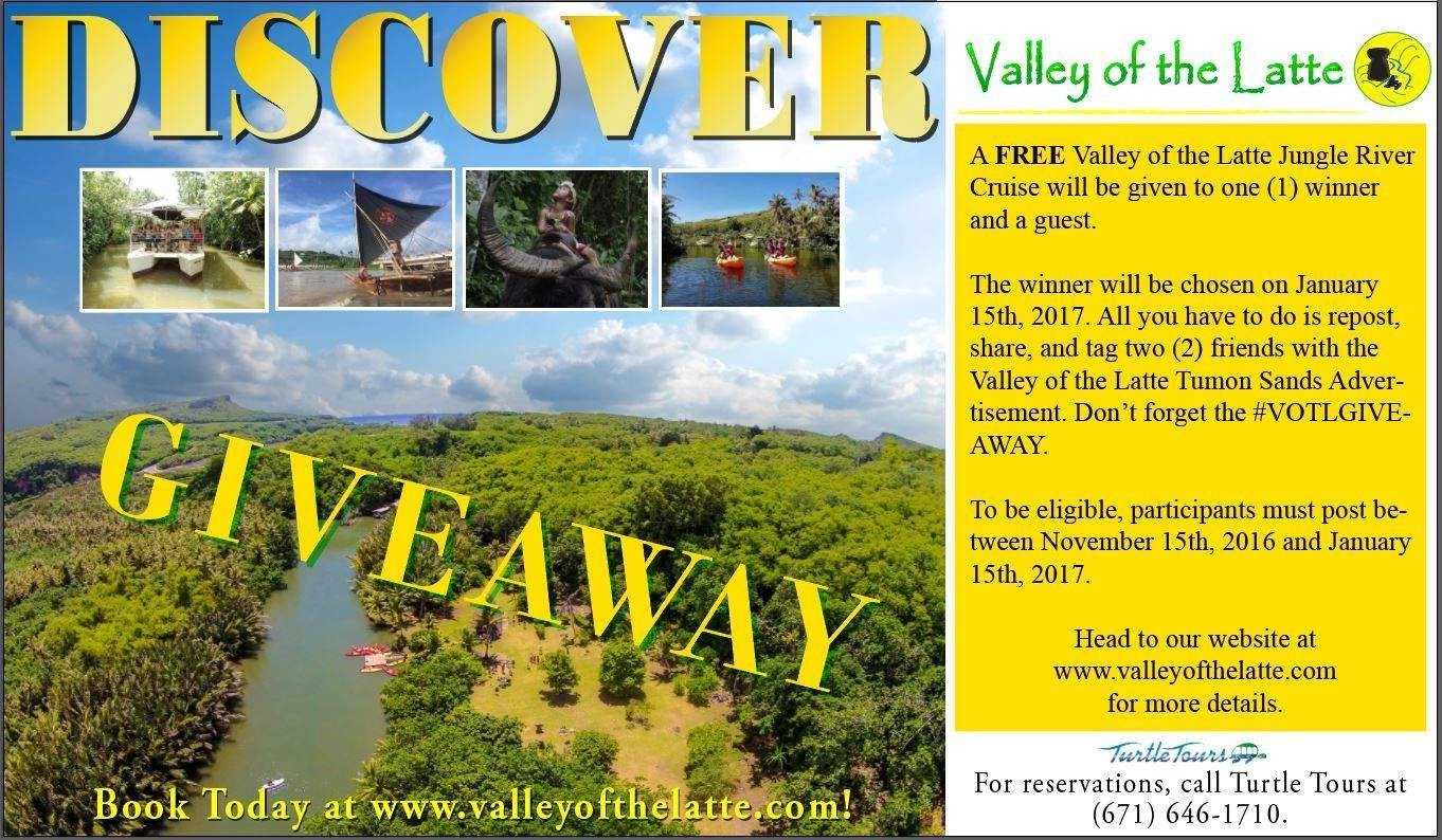 valley of the latte, giveaway, guam, tours, activities, culture, events