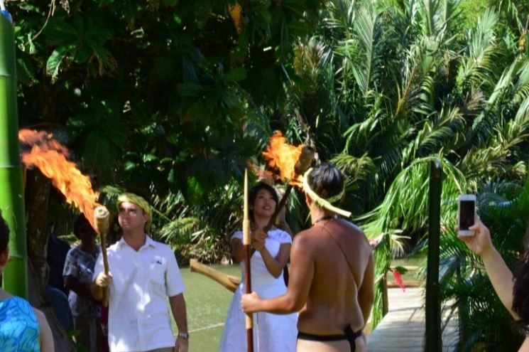 The Tinakam-Nakamura Wedding, Guam, Valley of the Latte, Events, Special Events,