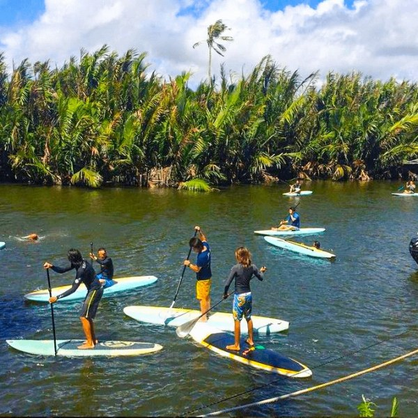 Stand Up Paddle Boarding, Guam, Valley of the Latte, Tours, Activities, Things to Do