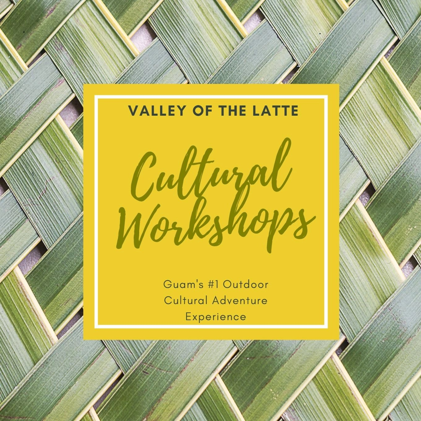 Valley of the Latte weaving workshop february 27th