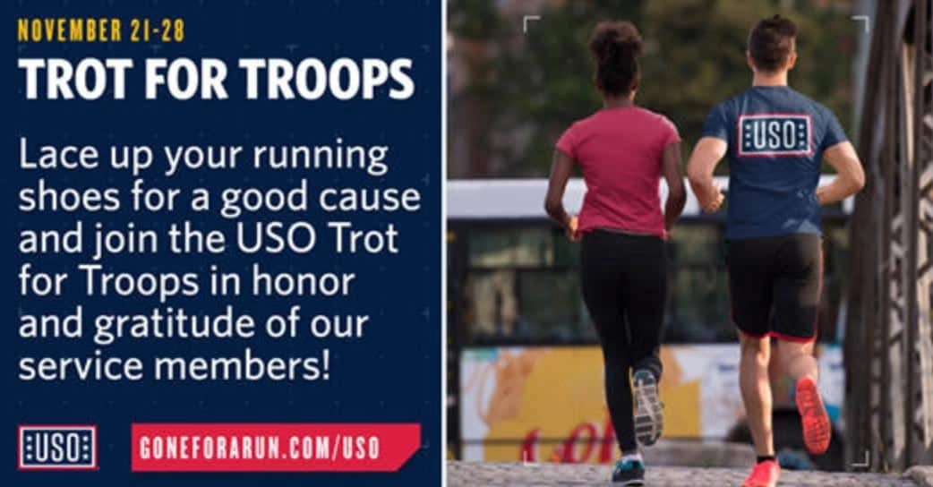 USO Trot for the Troops