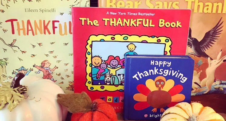 BOOKS ABOUT THANKSGIVING AND BEING THANKFUL