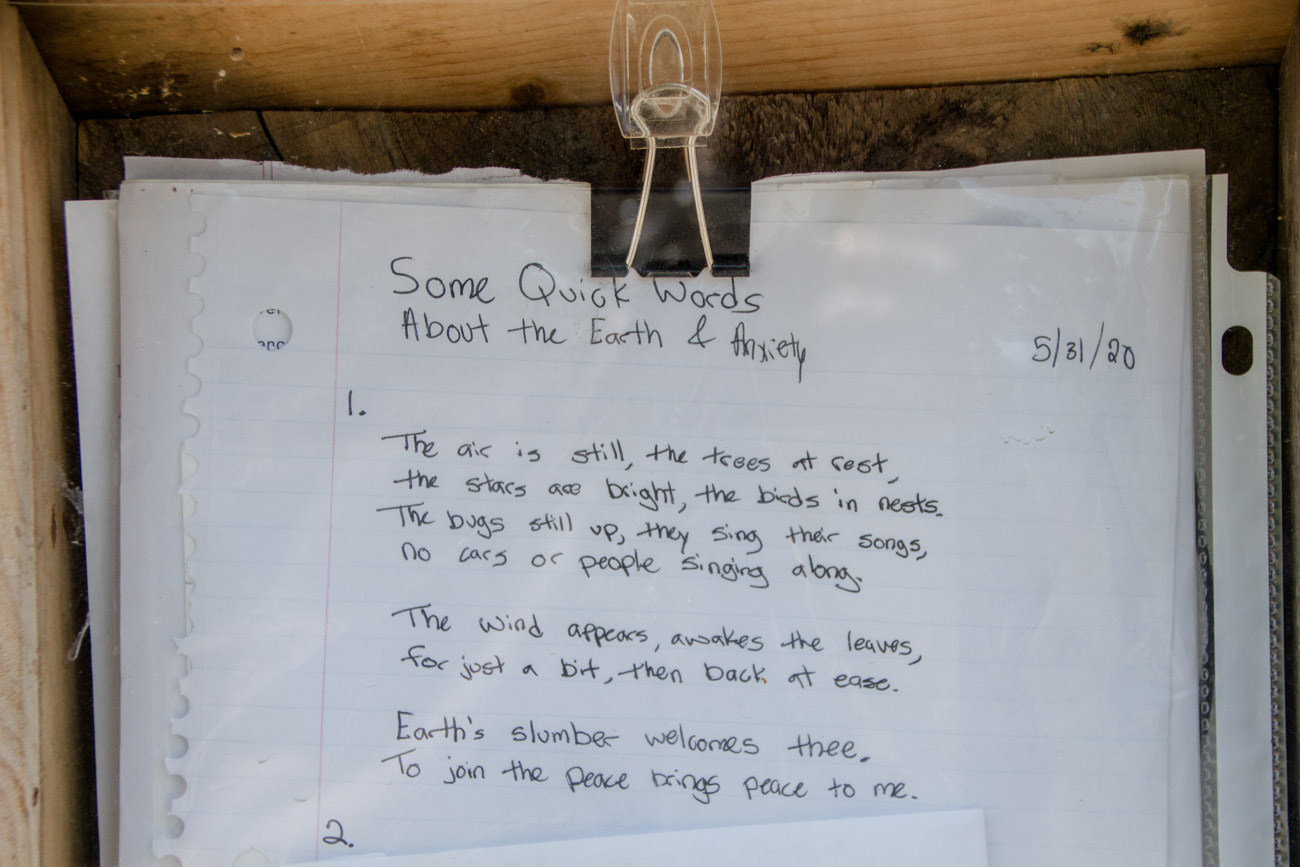 Poetry in the Millyard Poetry Box