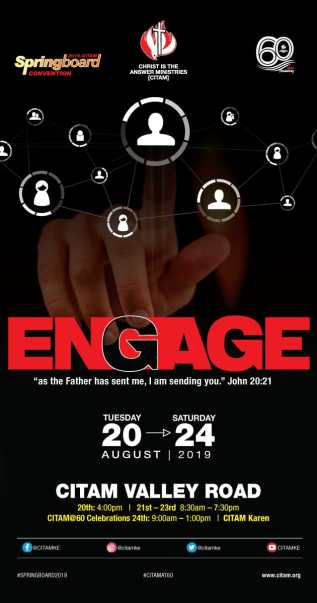 ENGAGE 2019 - Springboard Convention