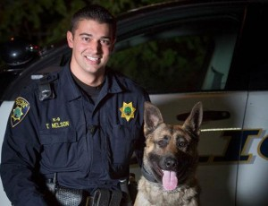 Rony and his partner Officer Tyler Nelson will be getting out and meeting the community