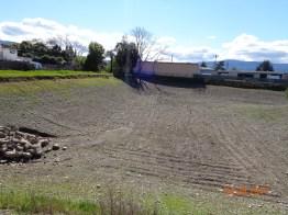 McGlincey perc ponds undergoing maintenance