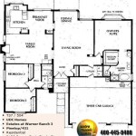Image of Warner Ranch Tempe floor plans: model Pinetop 431