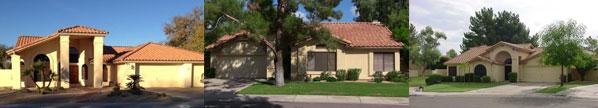 Three homes in Warner Ranch