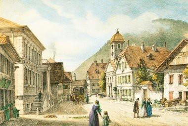 """Couverture du livre """"La maison des souvenirs"""",écrit par une descendante de Jules-Samuel Jequier"""