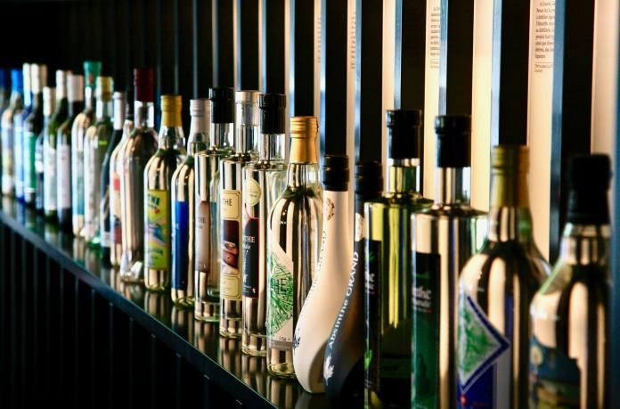 Plus de 25 sortes d'absinthe disponible à la Maison de l'Absinthe Val-de-Travers