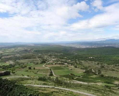 la vallée de Lussas