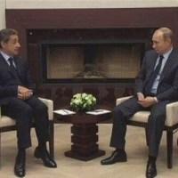 """""""Chaise haute"""" ou la petite vacherie de Poutine à N.Sarkozy ... #Russie"""