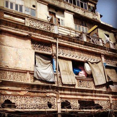 Old British Era buildings. Chandni Chowk, Delhi