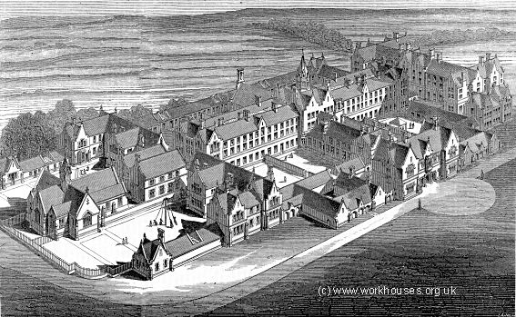 Birmingham Workhouse post 1852: The centre for poor relief