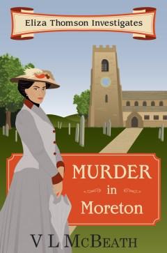 Murder In Moreton Book Cover