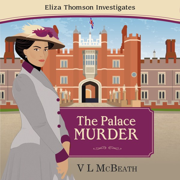 The Palace Murder Audio Book Cover