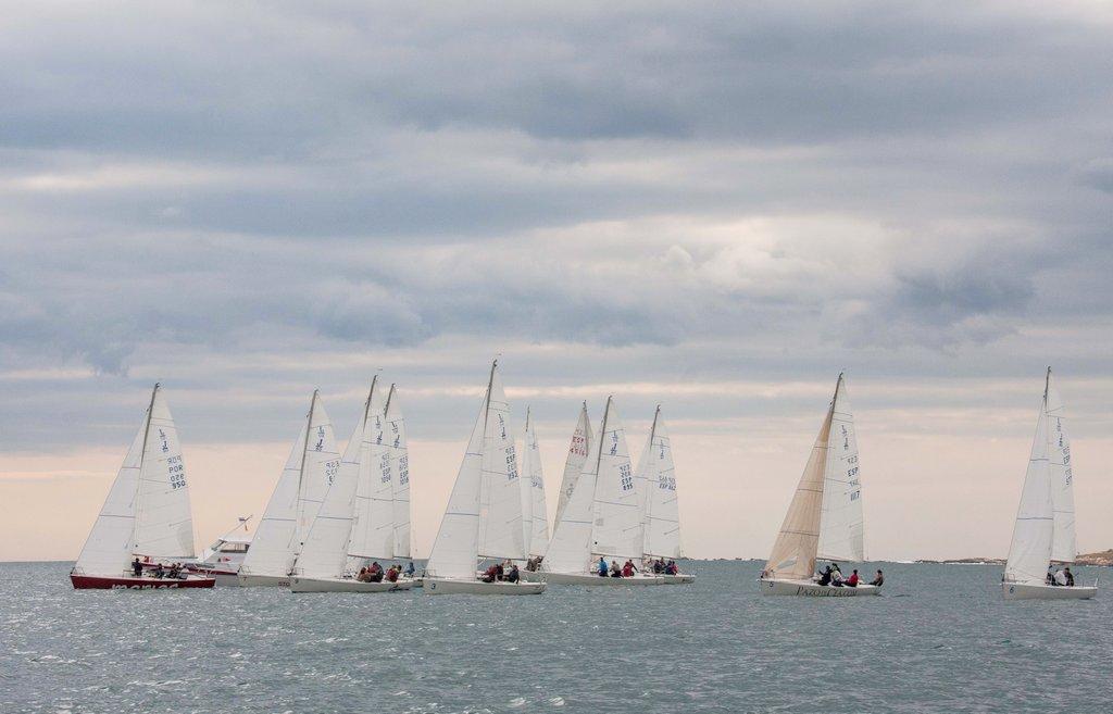 2017-03-25 – Salida de la regata costera disputada en la joranda final- Foto © Rosana Calvo
