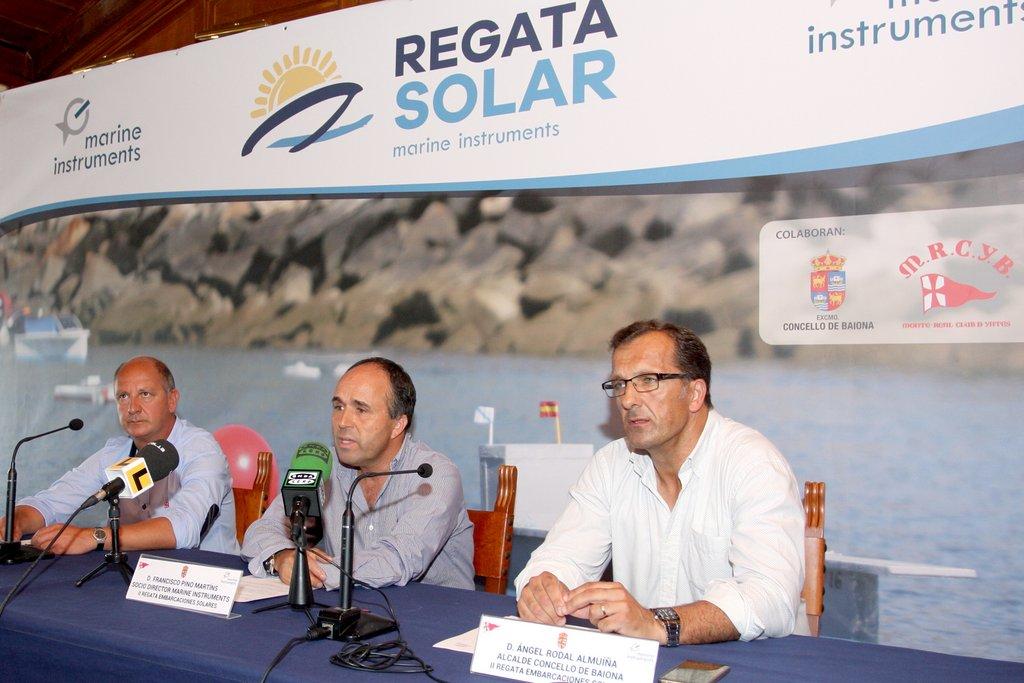 PRESENTACIÓN DA REGATA SOLAR MARINE INSTRUMENTS
