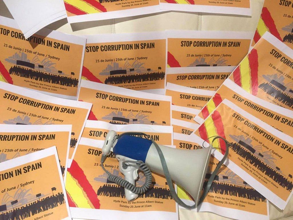 UN NIGRANÉS CONVOCA EN SYDNEY UNHA PROTESTA CONTRA A CORRUPCIÓN EN ESPAÑA