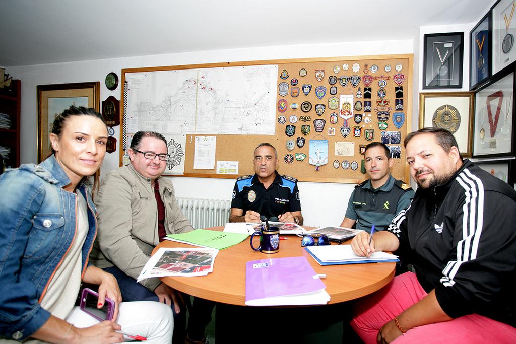 REUNIÓN DE SEGURIDADE DO TRIAL DAS NACIÓNS DE BAIONA
