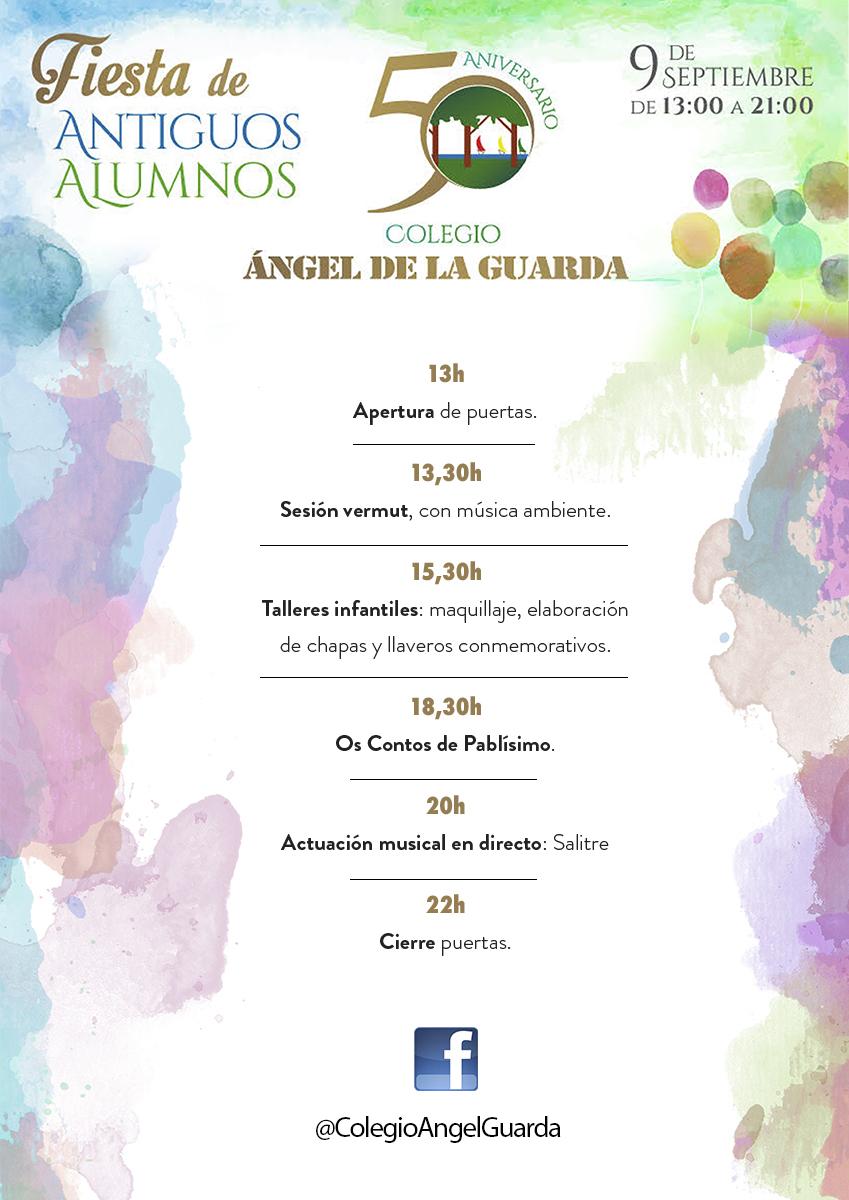 50 ANIVERSARIO COLEXIO ÁNGEL DE LA GUARDA