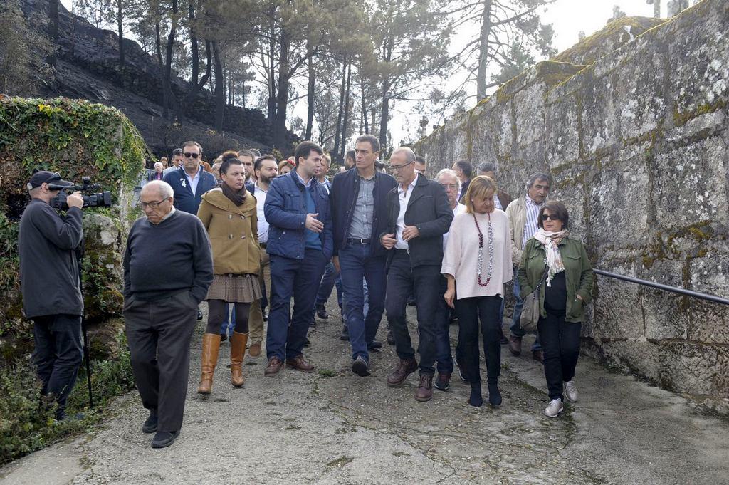 VISITA DE PEDRO SÁNCHEZ A CHANDEBRITO