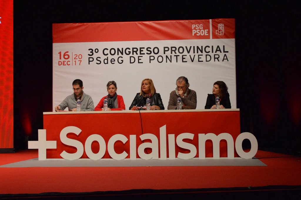 PACO FERREIRA, RAQUEL GIRÁLDEZ E CARLOS GÓMEZ, NA NOVA EXECUTIVA PROVINCIAL DO PSDG