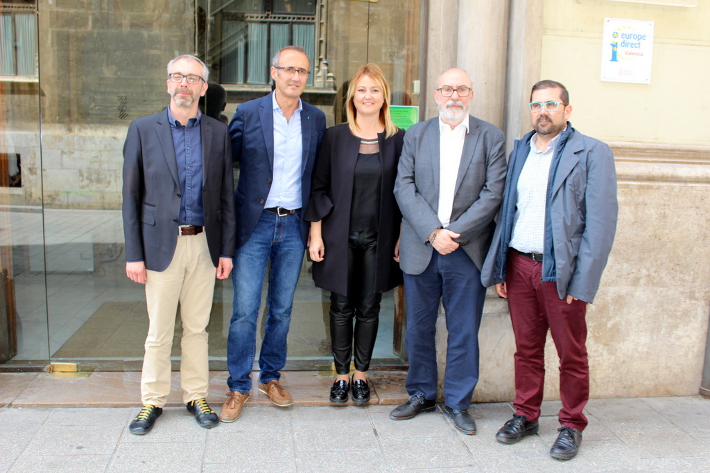 O ALCALDE DE NIGRÁN PRESIDE EN VALENCIA A ASEMBLEA DA CONFEDERACIÓN DE FONDOS DE COOPERACIÓN Y SOLIDARIDAD