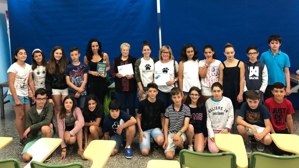 2018-06-21 – Alumnado cooperativa _Artesáns&Kids_ y representatantes