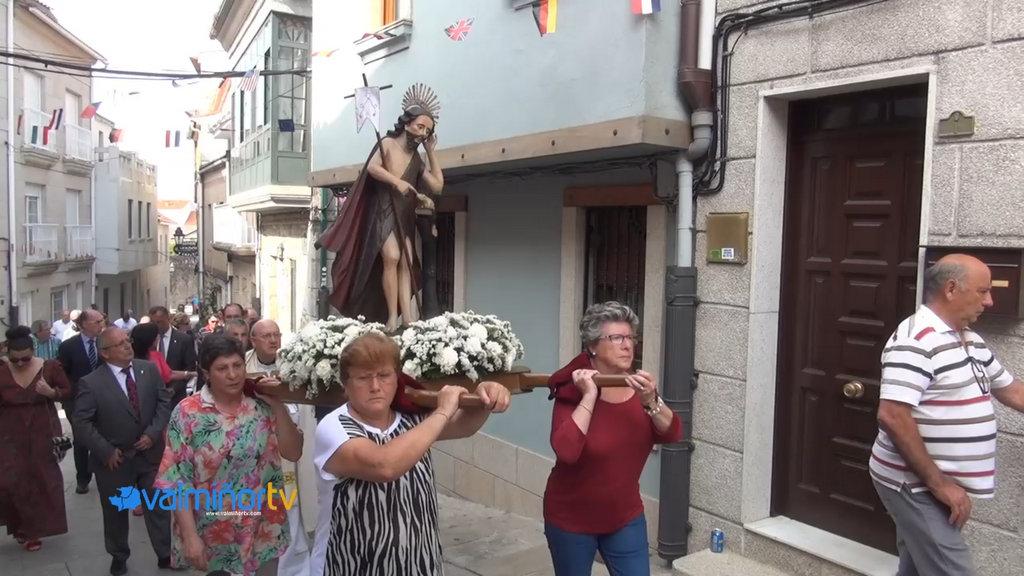 PROCESIÓN DE SAN XOÁN EN BAIONA