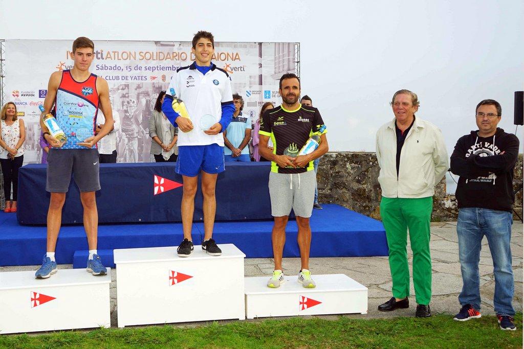 2018-09-15 – Ganadores absolutos masculinos – Foto © Manuel Parada