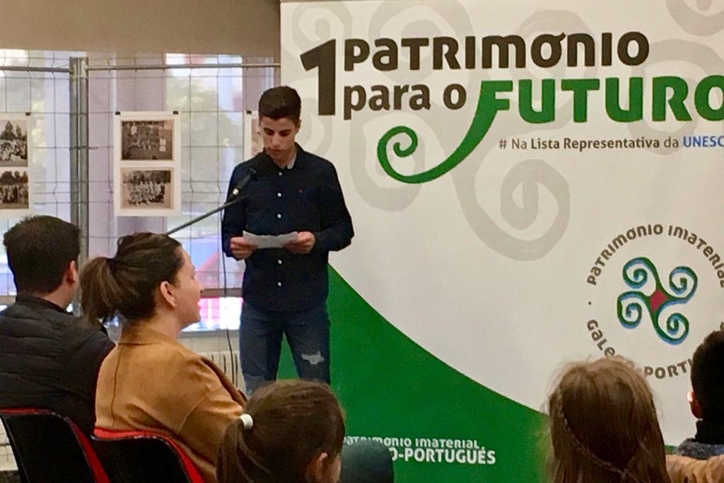 """MARTÍN VIDAL, DO IES TERRA DE TURONIO, 2º PREMIO NO CERTAME """"AS IMAXES DO PATRIMONIO"""""""