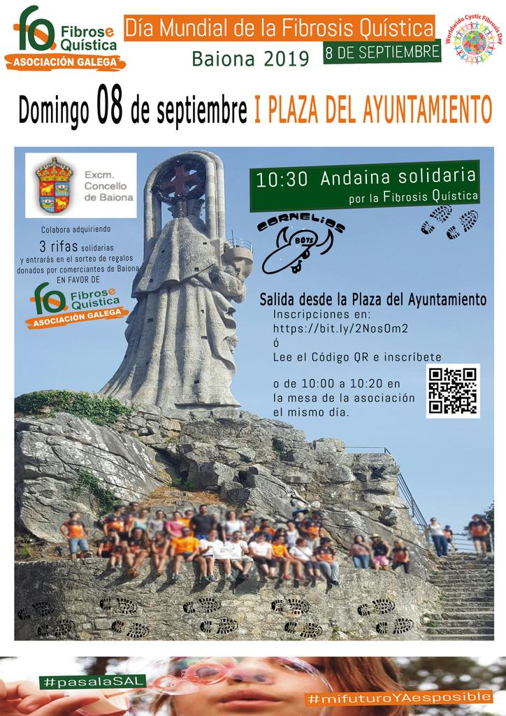 2019-08-25 - Día Mundial FQ Baiona 08092019 - Cartel Andaina
