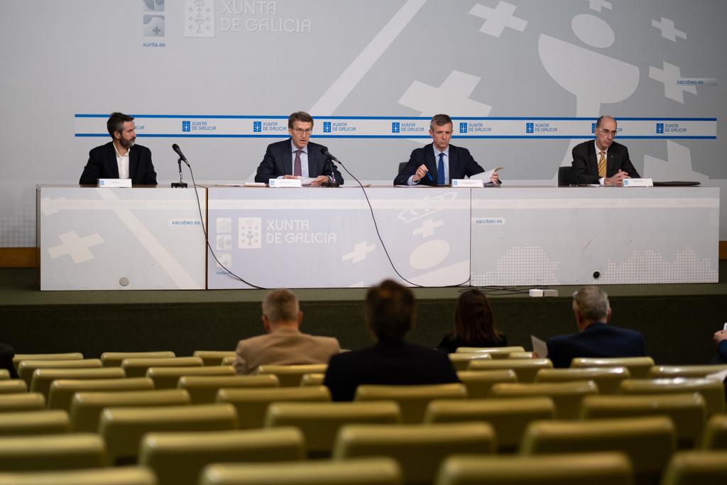 O titular do Goberno galego preside a reunión da Comisión de Coordinación Operativa