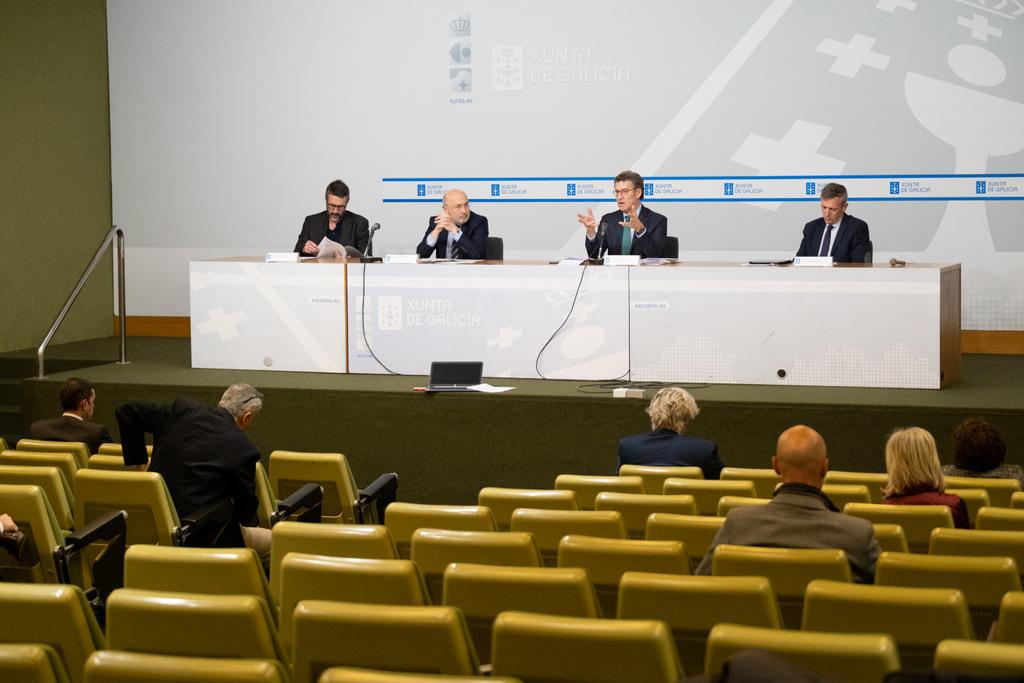 O titular do Goberno galego presidente unha nova reunión do Centro de Coordinación Operativa